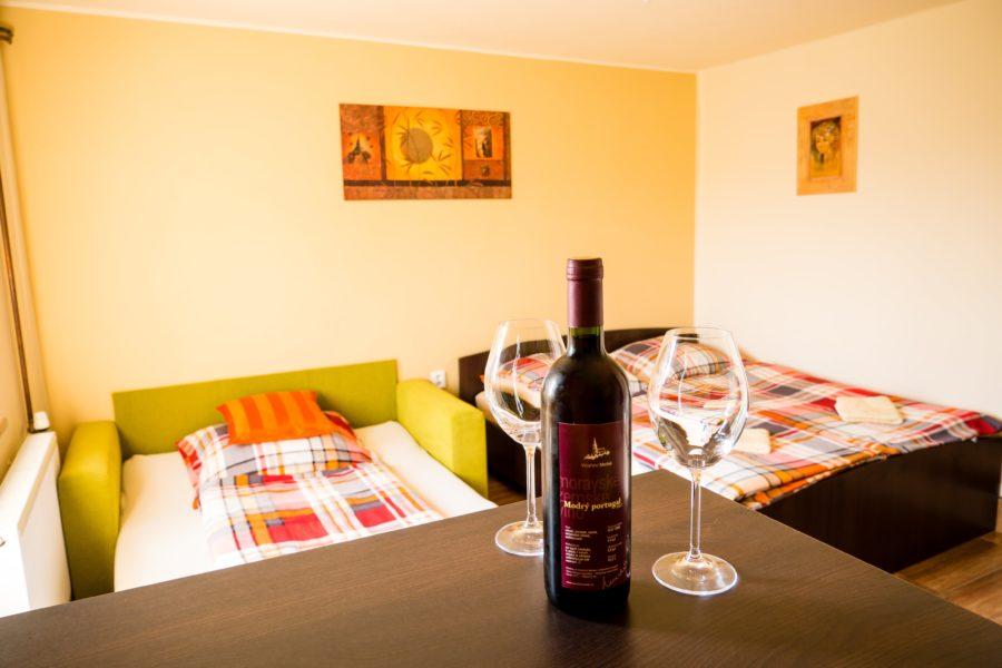 Ubytování ve Vinařství Medek