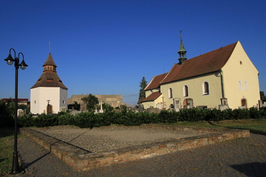Kostel Svatého Michaela a kaple Svatého Jana Křtitele