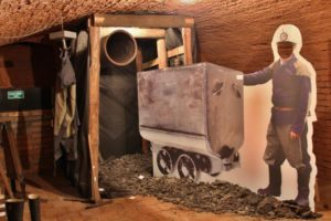 Expozice hornictví a sklářství
