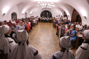 12. Tradiční setkání pěveckých sborů ve Strání na Zámečku