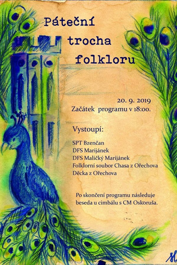 Páteční trocha folkloru