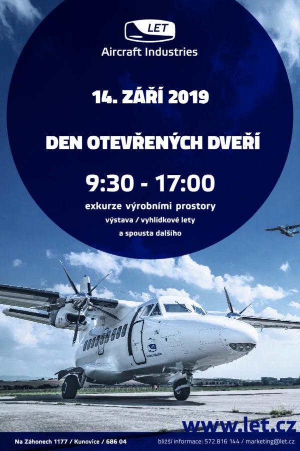 Den otevřených dveří v Aircraft Industries