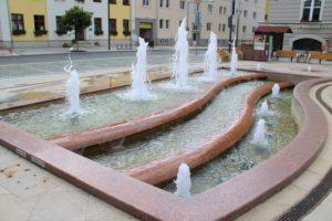 Zpívající fontána v Hodoníně
