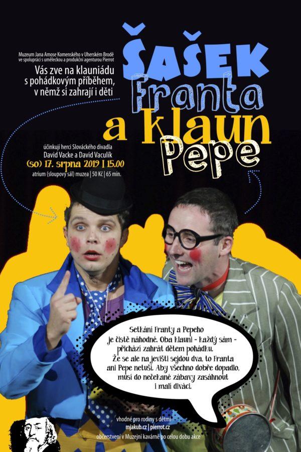 Šašek Franta a klaun Pepe