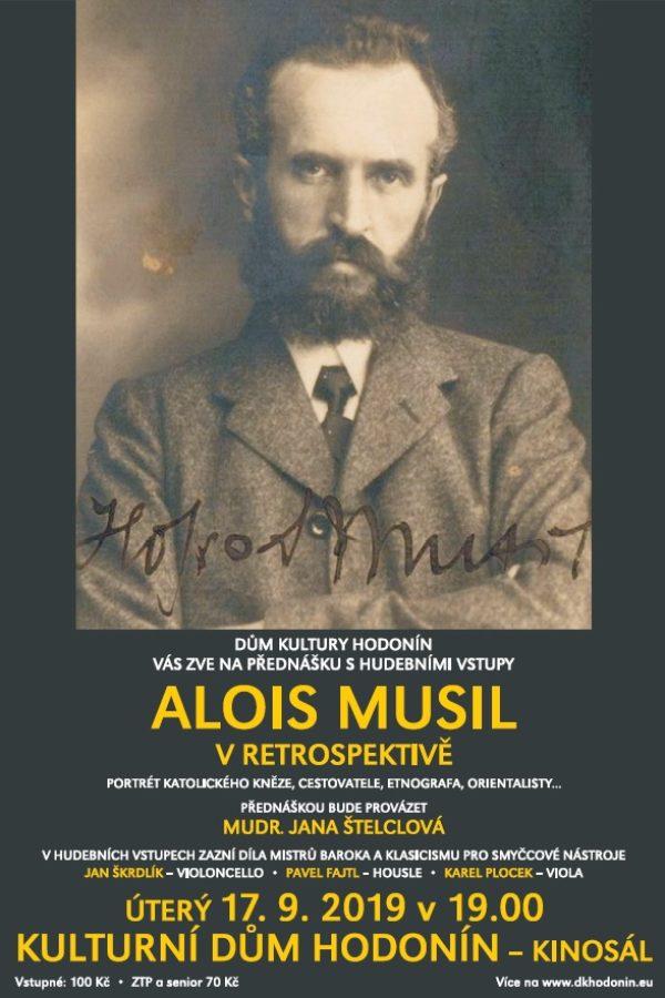 Alois Musil v retrospektivě