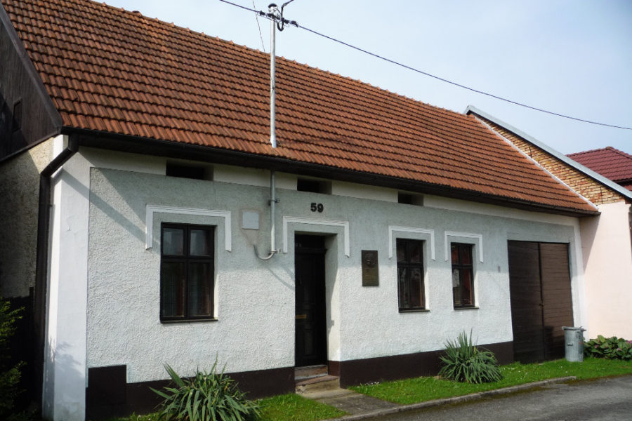 Rodný dům olomouckého arcibiskupa Josefa Karla Matochy.