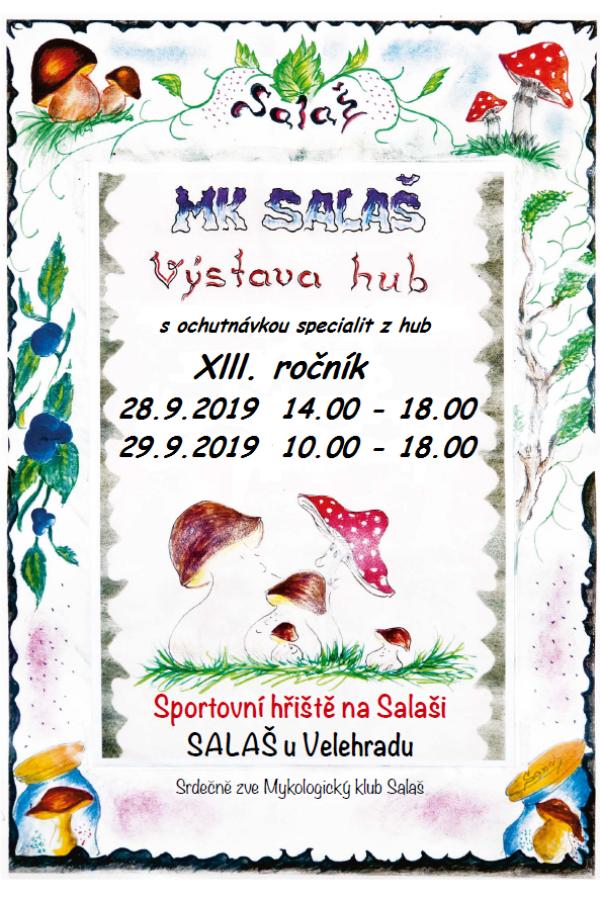 Výstava hub s ochutnávkou houbových specialit