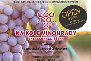 """Na kole vinohrady Uherskohradišťska – letos """"OPEN"""" s cílem podpořit lokální vinaře FOTO"""